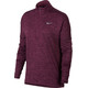 Nike Therma Sphere Element Halfzip Top Women port wine/heather